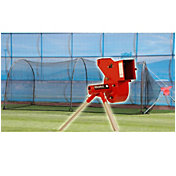 Heater Combo Pitching Machine & Xtender 24' Batting Cage