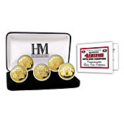 The Highland Mint San Francisco 49ers 5x Super Bowl Champions Gold Coin Set