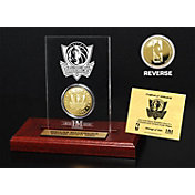 The Highland Mint Dallas Mavericks Gold Coin Etched Acrylic