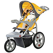 inStep Grand Safari Swivel Wheel Single Jogging Stroller