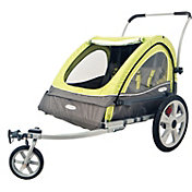InSTEP Sierra Double Bike Trailer and Stroller