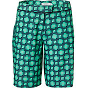Lady Hagen Women's Monarch Collection Printed Bermuda Golf Shorts