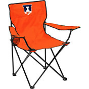 Illinois Fighting Illini Team-Colored Canvas Chair