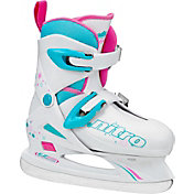 Lake Placid Girls' Nitro 8.8 Adjustable Figure Skates