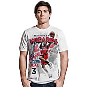 Levelwear Men's Washington Wizards Bradley Beal Center Court White T-Shirt