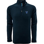 Levelwear Men's Vanderbilt Commodores Black Metro Quarter-Zip Pullover