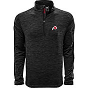Levelwear Men's Utah Utes Grey Armour Quarter-Zip Shirt