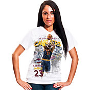 Levelwear Women's Cleveland Cavaliers LeBron James Center Court T-Shirt
