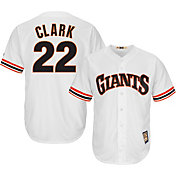 Majestic Men's Replica San Francisco Giants Will Clark Cool Base White Cooperstown Jersey