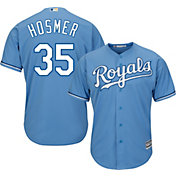 Majestic Men's Replica Kansas City Royals Eric Hosmer #35 Cool Base Alternate Light Blue Jersey