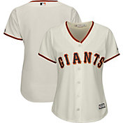 Majestic Women's Replica San Francisco Giants Cool Base Home Ivory Jersey