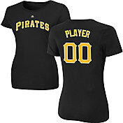 Majestic Women's Full Roster Pittsburgh Pirates Black T-Shirt