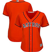 Majestic Women's Replica Houston Astros Cool Base Alternate Orange Jersey