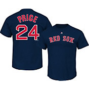 Majestic Youth Boston Red Sox David Price #24 Navy T-Shirt