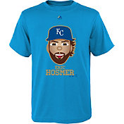 Majestic Youth Kansas City Royals Eric Hosmer Emoji Light Blue T-Shirt
