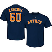 Majestic Youth Houston Astros Dallas Keuchel #60 Navy T-Shirt