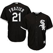 Majestic Youth Replica Chicago White Sox Todd Frazier #21 Cool Base Alternate Black Jersey