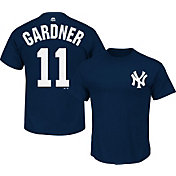 Majestic Youth New York Yankees Brett Gardner #11 Navy T-Shirt