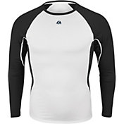 Majestic Boys' Premier Warrior Fitted Long Sleeve Baselayer