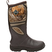 Muck Boots Men's Pursuit Shadow Pull-On Realtree Rubber Hunting Boots