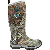 Muck Boot Women's Girls With Guns Arctic Hunter Tall Mossy Oak Country Rubber Hunting Boots
