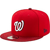 New Era Men's Washington Nationals 9Fifty Visor Fresh Red Adjustable Hat