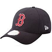 New Era Men's Boston Red Sox Navy 9Forty Pinch Hitter Adjustable Hat