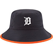 New Era Men's Detroit Tigers Navy Team Bucket Hat