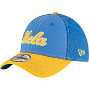New Era Men's UCLA Bruins True Blue/Gold Team Front Neo 39Thirty Stretch Fit Hat