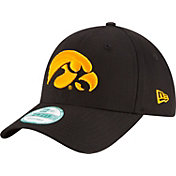 New Era Men's Iowa Hawkeyes The League Black 9Forty Adjustable Hat
