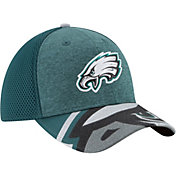 New Era Men's Philadelphia Eagles 2017 NFL Draft 39Thirty Adjustable Green Hat
