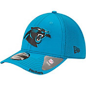 New Era Men's Carolina Panthers 39Thirty Neo Flex Blue Hat
