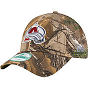 New Era Men's Colorado Avalanche 9Forty The League Real Tree Camo Adjustable Hat