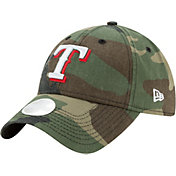 New Era Women's Texas Rangers 9Twenty Camo Preferred Pick Adjustable Hat
