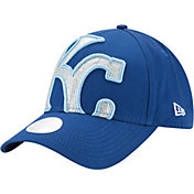 New Era Women's Kansas City Royals 9Forty Glitter Glam Adjustable Hat