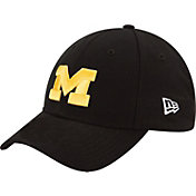 New Era Women's Michigan Wolverines Black 9TWENTY Adjustable Hat