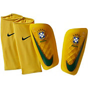 Nike Adult Mercurial Lite Brazil Soccer Shin Guards