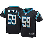 Nike Boys' Home Game Jersey Carolina Panthers Luke Kuechly #59