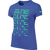 Nike Girls' Dry Elite Graphic T-Shirt