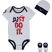 Nike Newborn Just Do It Bodysuit Set