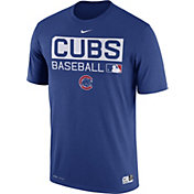 Nike Men's Chicago Cubs Dri-FIT Authentic Collection Royal Legend T-Shirt