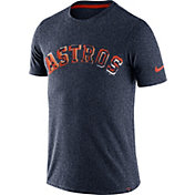 Nike Men's Houston Astros Marled Navy T-Shirt