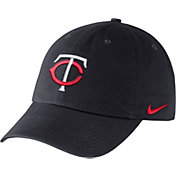Nike Men's Minnesota Twins Dri-FIT Navy Heritage 86 Stadium Adjustable Hat