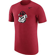 Nike Men's Georgia Bulldogs Heathered Red Vault Tri-Blend T-Shirt