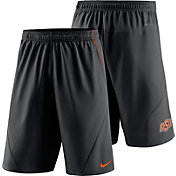 Nike Men's Oklahoma State Cowboys Black Fly XL 5.0 Football Sideline Shorts