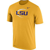 Nike Men's LSU Tigers Gold Football Icon Legend T-Shirt