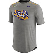 Nike Men's LSU Tigers Grey Football Player T-Shirt