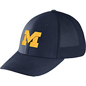 Nike Men's Michigan Wolverines Blue Legacy91 Flex Mesh Back Hat