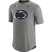 Nike Men's Penn State Nittany Lions Grey Football Player T-Shirt