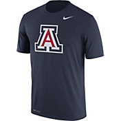 Nike Men's Arizona Wildcats Navy Logo Dry Legend T-Shirt